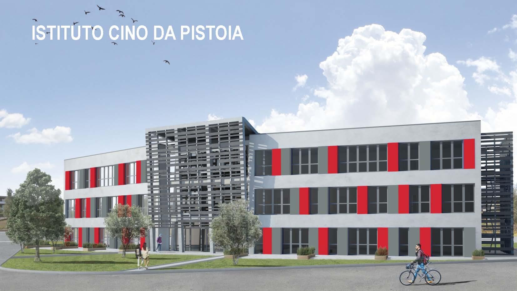 Immagine del progetto della nuova scuola Cino da Pistoia